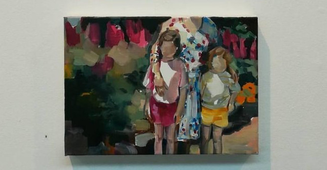 '5+Languages'+(bottom).+(2017)+Oil+on+Canvas.+25+x+35+cm+each.